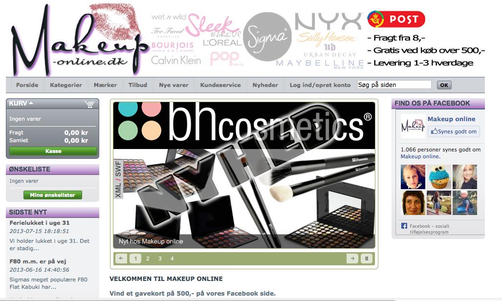 Makeup online